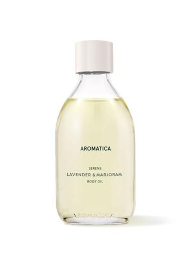 Aromatica Serene Body Oil Lavender & Marjoram - Dinginleştirici Vücut Yağı Lavanta & Mercanköşk Renksiz